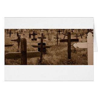 Cementerio Santa Fe Tarjeta De Felicitación