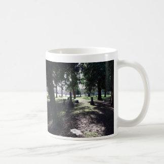 Cementerio vago taza de café