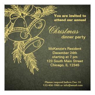 Cena de navidad invitación