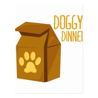 Cena del perrito postal