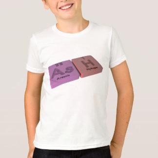 Ceniza como como el arsénico e hidrógeno de H Camiseta