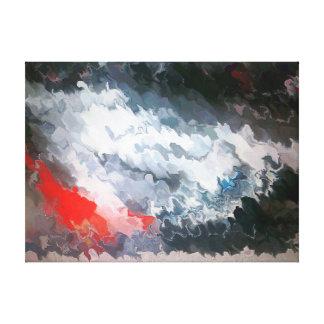 Cenizas a las cenizas 398 aka de marea impresión en lienzo