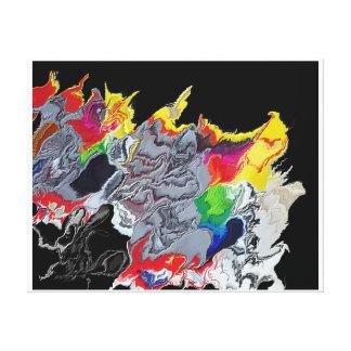 Cenizas a las cenizas 500 impresión en lienzo