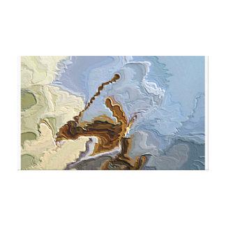 Cenizas al mago del pinball de las cenizas 693 aka impresión en lienzo