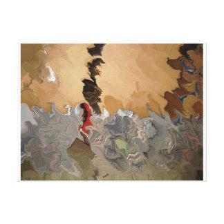 Cenizas hombre rojo de las cenizas 318 aka impresión en lienzo