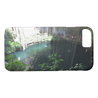 Cenote azul sagrado, Ik Kil, caso del iPhone 7 de Funda iPhone 7