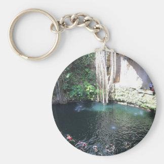 Cenote azul sagrado, Ik Kil, llavero de México #4