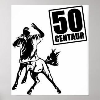 Centaur 50 posters