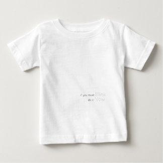 Centelleo ahora camiseta de bebé