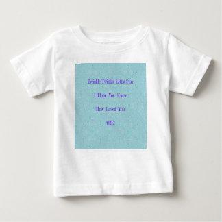 Centelleo del centelleo pocos regalos del bebé de camiseta de bebé