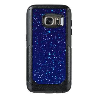 Centelleo Stars2 azul Funda Otterbox Para Samsung Galaxy S7