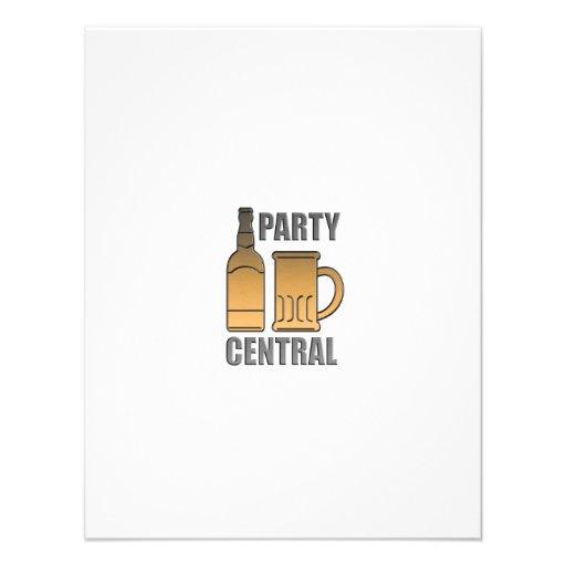 central de oro del fiesta de la taza de la botella anuncios personalizados