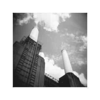 Central eléctrica de Battersea Impresión En Lienzo