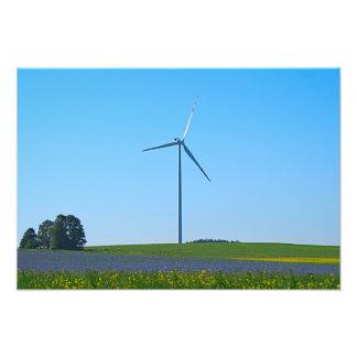 Central eléctrica de energía eólica - foto