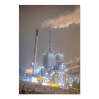 Central eléctrica de Kymijärvi Fotografias