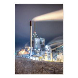 Central eléctrica de Kymijärvi Impresiones Fotograficas