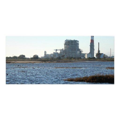 Central eléctrica lona personalizada