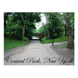 Central Park, Nueva York 2 Postal