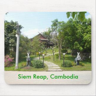 Centro camboyano de la cultura alfombrilla de ratón