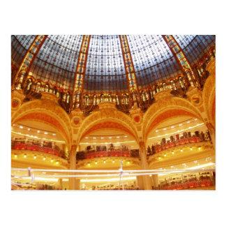 Centro comercial en París Postal