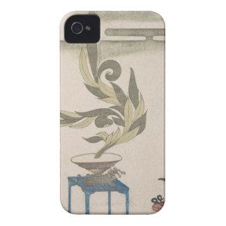 Centro de flores - Utagawa Itchinsai Funda Para iPhone 4 De Case-Mate