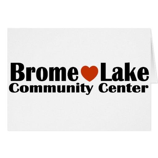Centro de la comunidad del lago Brome Tarjeton