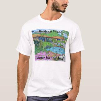 Centro de madera de Beatriz para la camiseta de