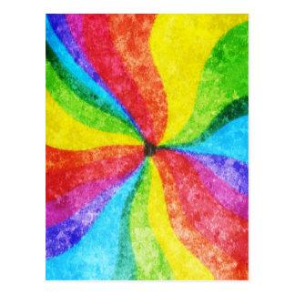 Centro del arco iris postal