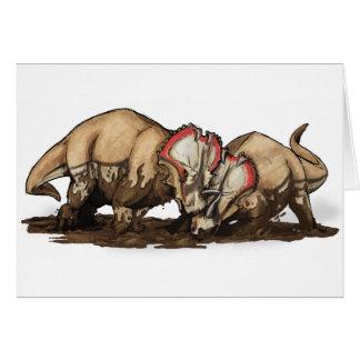 Centrosaurus - dinosaurio felicitación