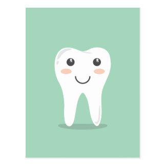 Cepillo de dientes de cepillado del diente del postal