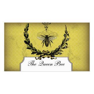 Cera de abejas del panal de la tarjeta de visita