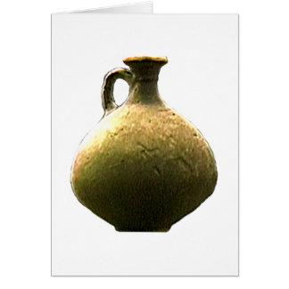 Cerámica romana 1 del artefacto de Inglaterra Tarjeta
