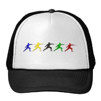 Cercadores del Epee que cercan deportes para mujer Gorra