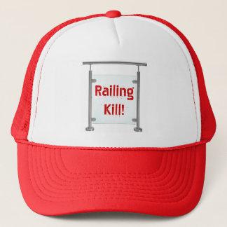 ¡Cercar matanza con barandilla! Gorra De Camionero