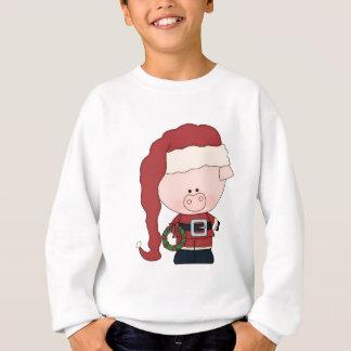 Cerdo Claus de Santa Sudadera