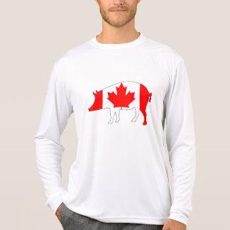 Cerdo de Canadá Camiseta