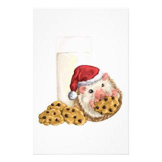 Cerdo de la galleta del navidad papelería