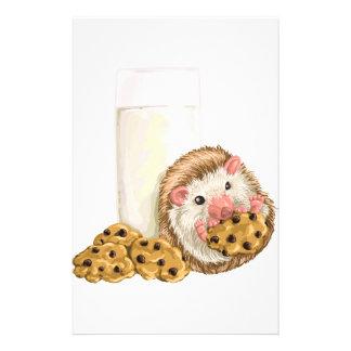 Cerdo de la galleta papelería