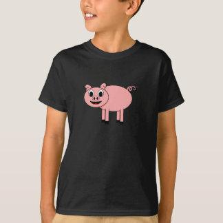 Cerdo del dibujo animado camiseta