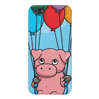 Cerdo del globo del vuelo iPhone 5 cobertura