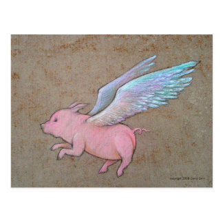 cerdo del vuelo postal