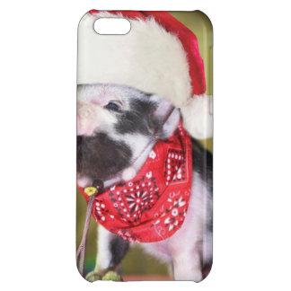 Cerdo Papá Noel - cerdo del navidad - cochinillo