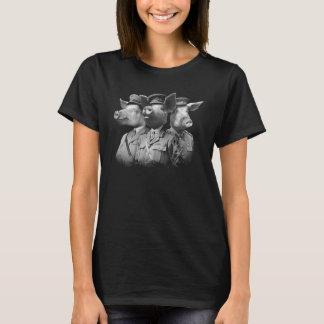 Cerdos de la guerra camiseta