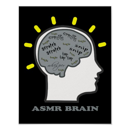 Cerebro de ASMR Poster