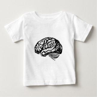 cerebro humano camiseta de bebé