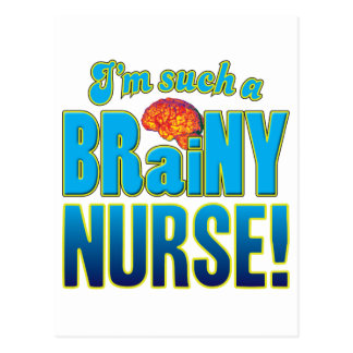 Cerebro inteligente de la enfermera postal