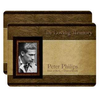 Ceremonia conmemorativa de la foto del pergamino invitación 11,4 x 15,8 cm