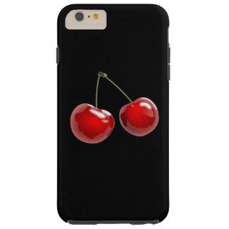 cereza roja funda resistente iPhone 6 plus
