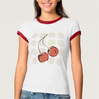 Cerezas alegres camiseta