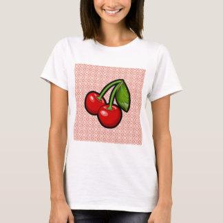 Cerezas en la flor camiseta